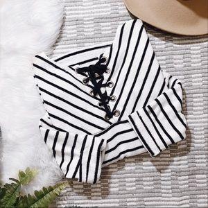 Sweaters - 🍂 Striped Sweater 🍂